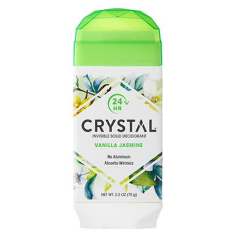 Crystal Invisible Solid Vanilla Jasmine Deo 70g