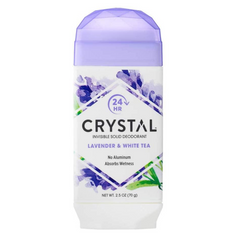 Crystal Invisible Solid Lav & White Tea Dep 70g