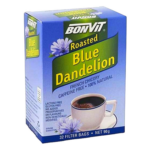 Bonvit Roasted Blue Dandelion 32 Filter Bags