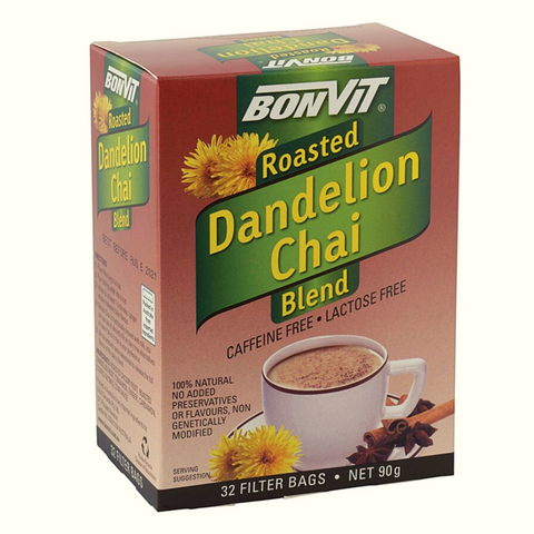 Bonvit Roasted Dandelion Chai Blend 32 Filter Bags