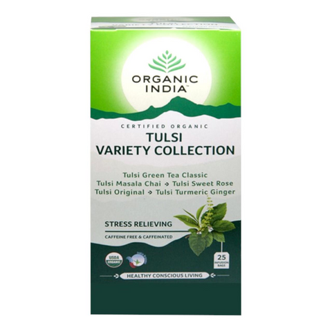 Organic India Tulsi Tea Variety Collection 25 Bags