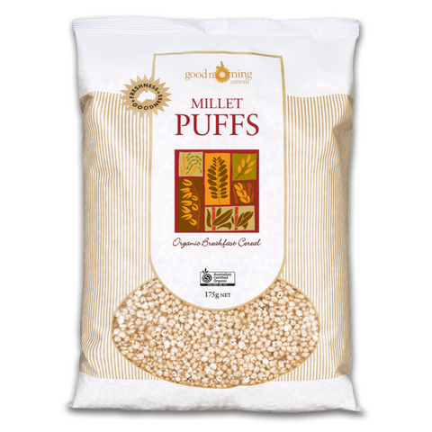 Good Morning Organic Millet Puffs 175g