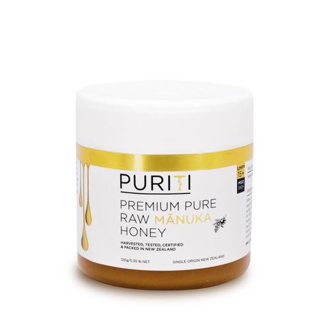 Puriti Premium Manuka Honey 15+ 120g