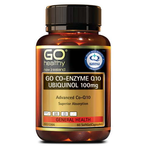 Go Co-Enzyme-Q10 Ubiquinol 100mg 60caps