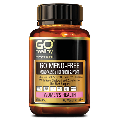 Go Meno-Free Menopause & Hot Flush Support 60caps