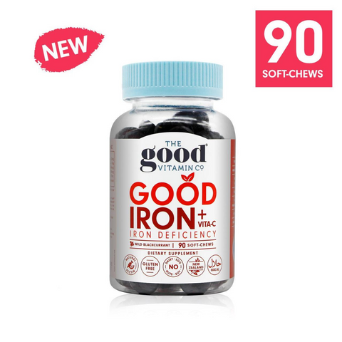 Good Vitamin Co. Iron & Vita-C 90 Soft-Chews