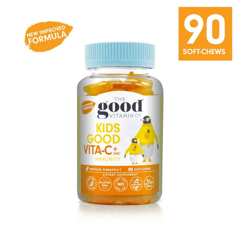 Good Vitamin Co. Kids Vita-C + Zinc 90 Soft-Chews