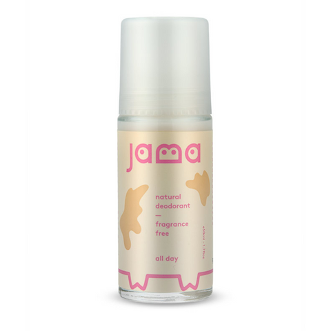Jama Natural Deodorant - Fragrance Free 50ml