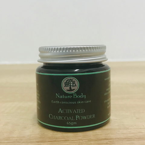Nature Body Pure Activated Charcoal Powder 65g