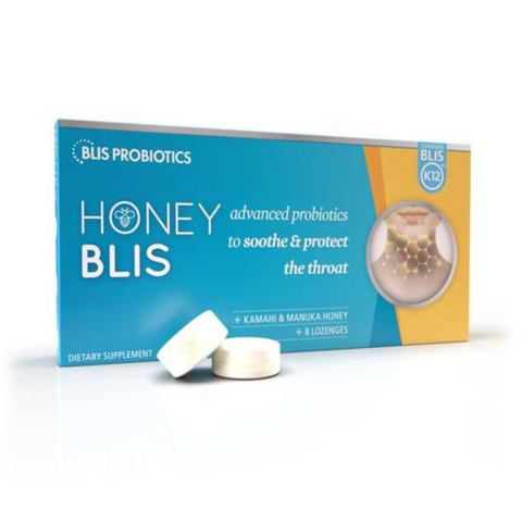 Blis Honey Blis K12 Advanced Probiotics 8 Lozenges