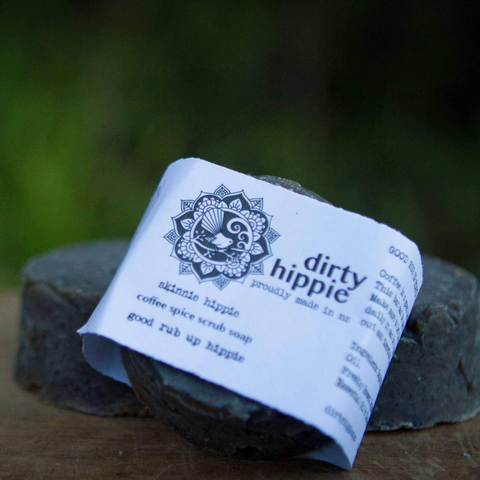 Dirty Hippie Coffee Spice Exfoliating Soap Full size