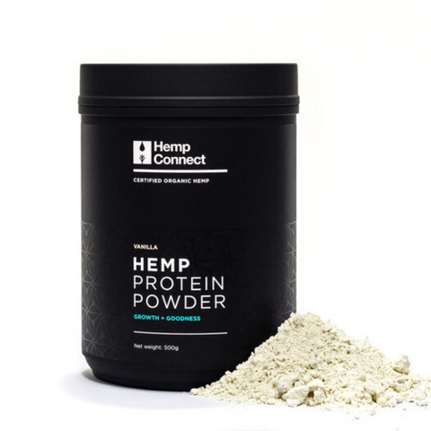 Hemp Connect Hemp Protein Powder Vanilla Organic 500g