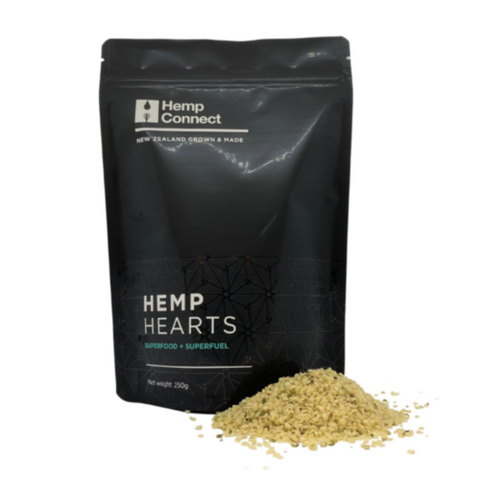 Hemp Connect NZ Hemp Hearts Organic 250g