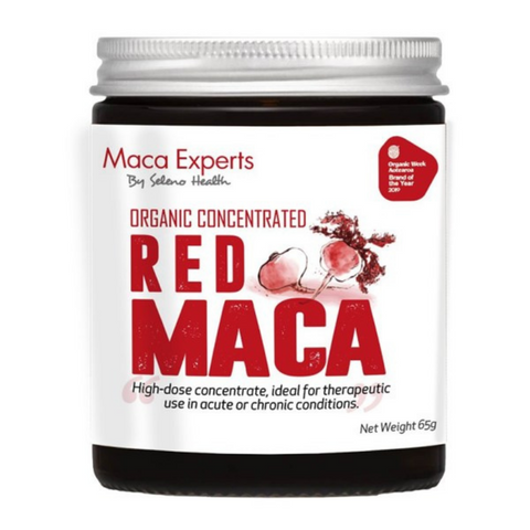 Seleno Concentrated Red Maca 65g Jar
