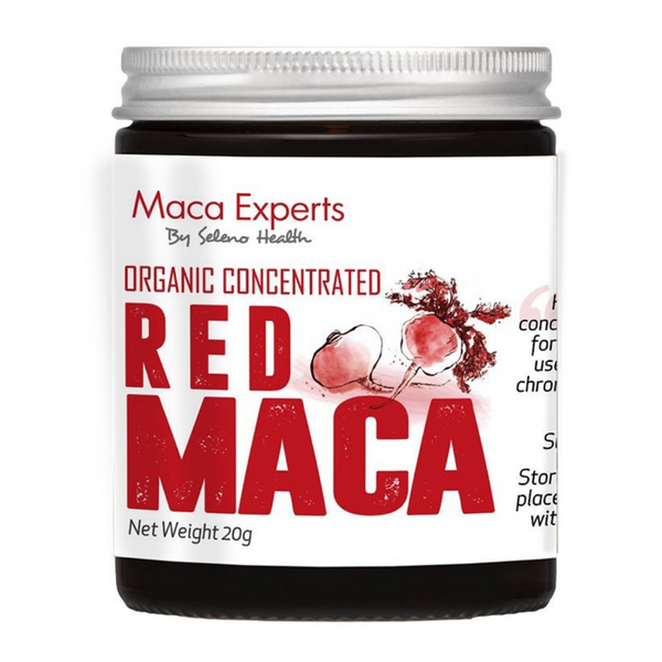 Seleno Concentrated Red Maca 20g Jar
