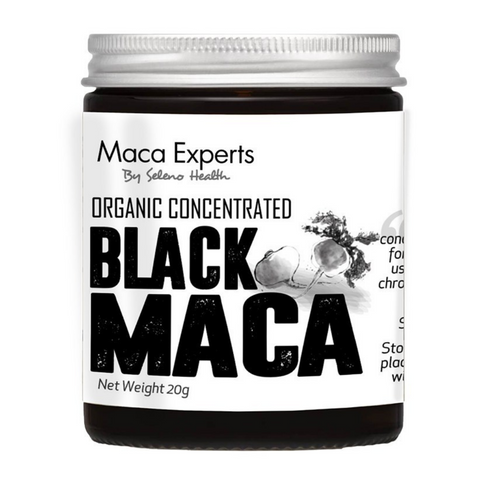 Seleno Concentrated Black Maca 20g Jar