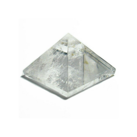 Pyramid - Clear Quartz (3x2.5cm)