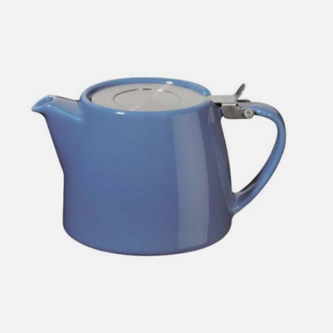 Harney Stump Teapot - Blue