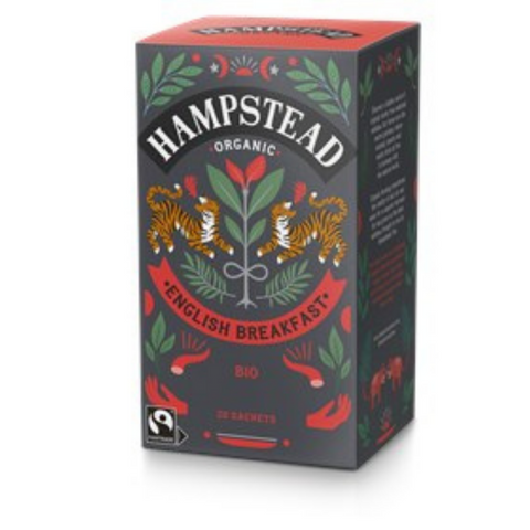 Hampstead Organic English Breakfast 20 sachets