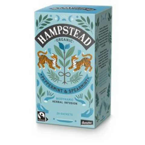 Hampstead Organic Peppermint & Spearmint Tea 20 Bags