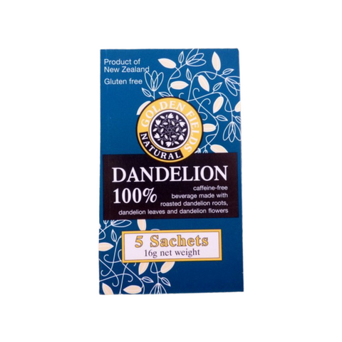 Golden Fields 100% Dandelion 25 Sachets root leaf & flower