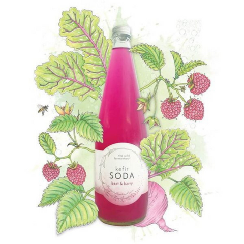 The Wild Fermentary Wild Kefir Beet & Berry 750ml