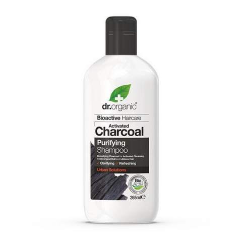 Dr Organic Activated Charcoal Purifying Shampoo 265ml