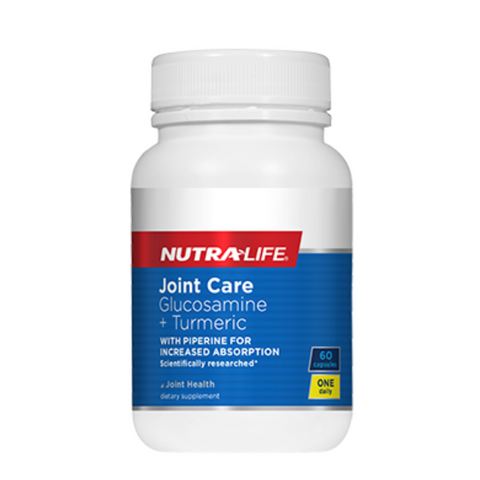 Nutralife Joint Care Glucosamine & Turmeric 60caps