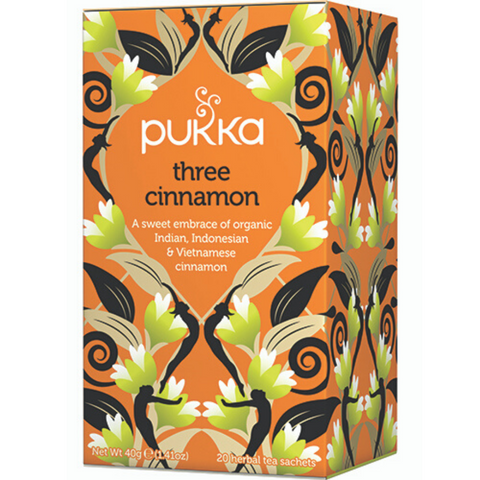 PUKKA Three Cinnamon Tea Bags 20