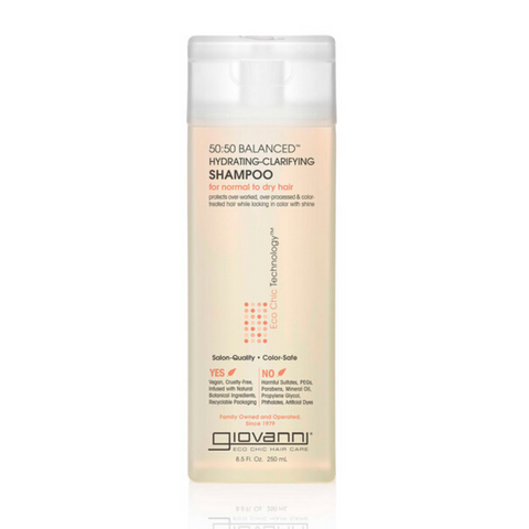 Giovanni 50:50 Balancing Hydrating Clarifying Shampoo 250ml