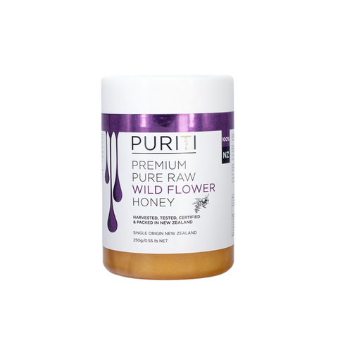 Puriti Premium Wild Flower Honey 250g