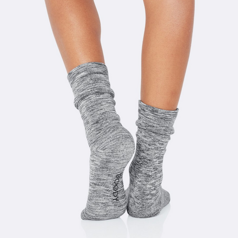Boody Women's Chunky Bed Sock Dove Size 3-9