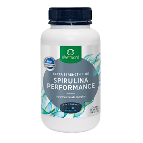 Lifestream Spirulina Performance Blue 500tabs