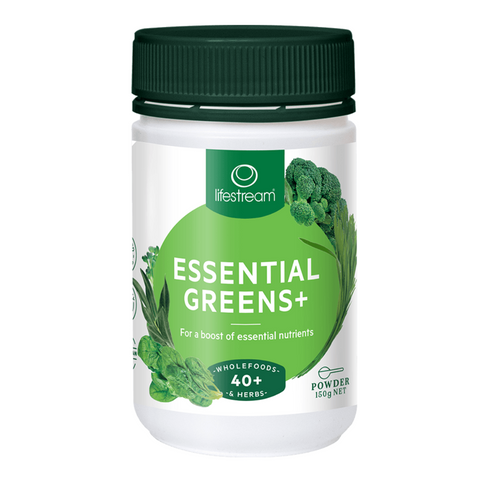 Lifestream Essential Greens + 150g powder