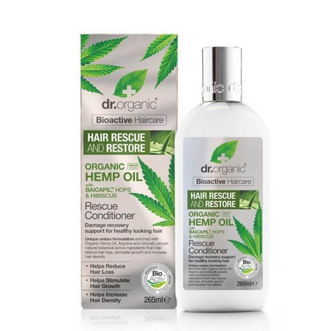 Dr Organic Hemp Oil Rescue Conditioner 265ml