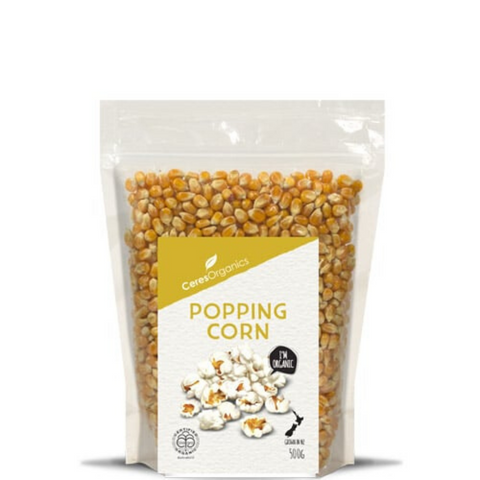 Ceres Popping Corn 500g Organic