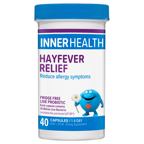 Ethical Nutrients Inner Health Hayfever Relief 40caps