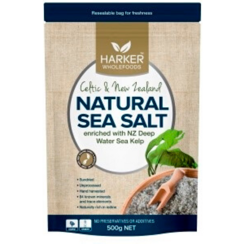 Harker Celtic & NZ Sea Salt with Kelp 300g