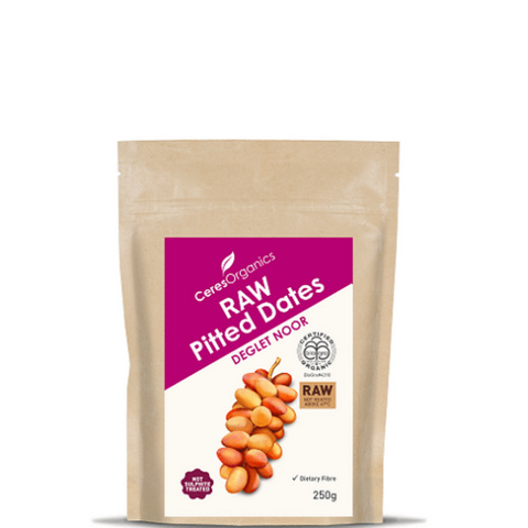 Ceres Raw Pitted Dates 250g