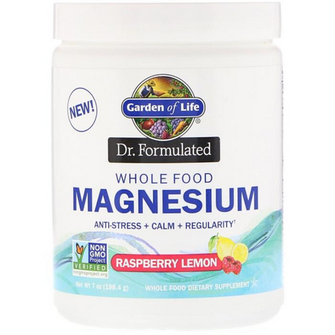 Garden of Life Whole Food Magnesium Powder 198.4g