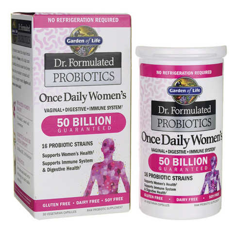 Garden of Life Dr Formulated Once Daily Womens Probiotic 50billion 30caps