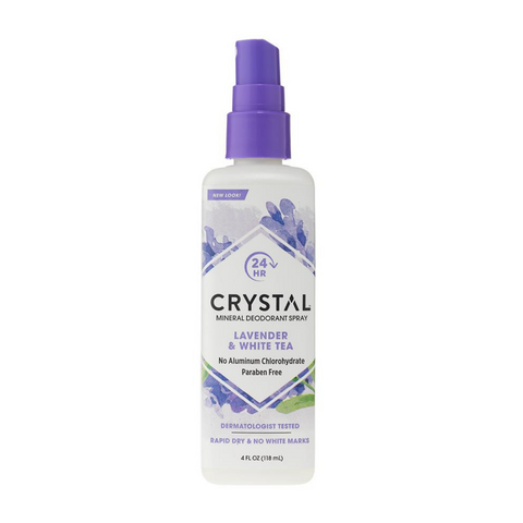 Crystal Spray Deodorant Lavender & White Tea 118ml