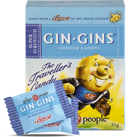 The Ginger People Gin Gins Super Strength 31g Blue Box