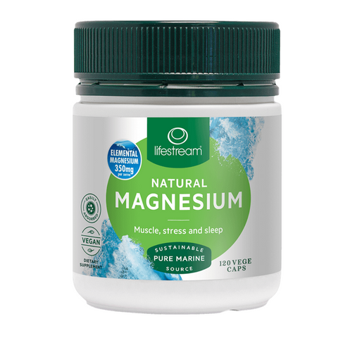 Lifestream Natural Magnesium 120caps