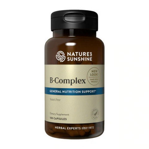 Nature's Sunshine Vitamin B Complex 100caps