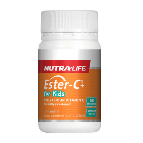 Nutralife Ester-C Kids Chewable 60tabs