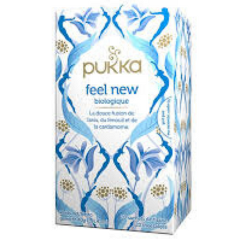 PUKKA Feel New Tea 20 sachet was Detox