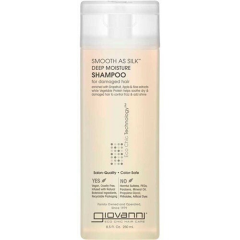 Giovanni Smooth As Silk Deep Moisture Shampoo 250ml