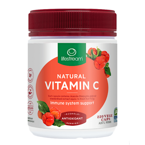 Lifestream Natural Vitamin C 220caps