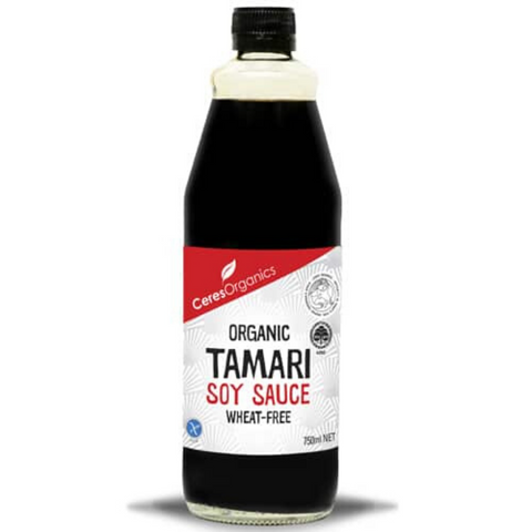 Ceres Tamari Soy Sauce Wheat Free 750ml
